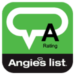 A Rating with Angie's list